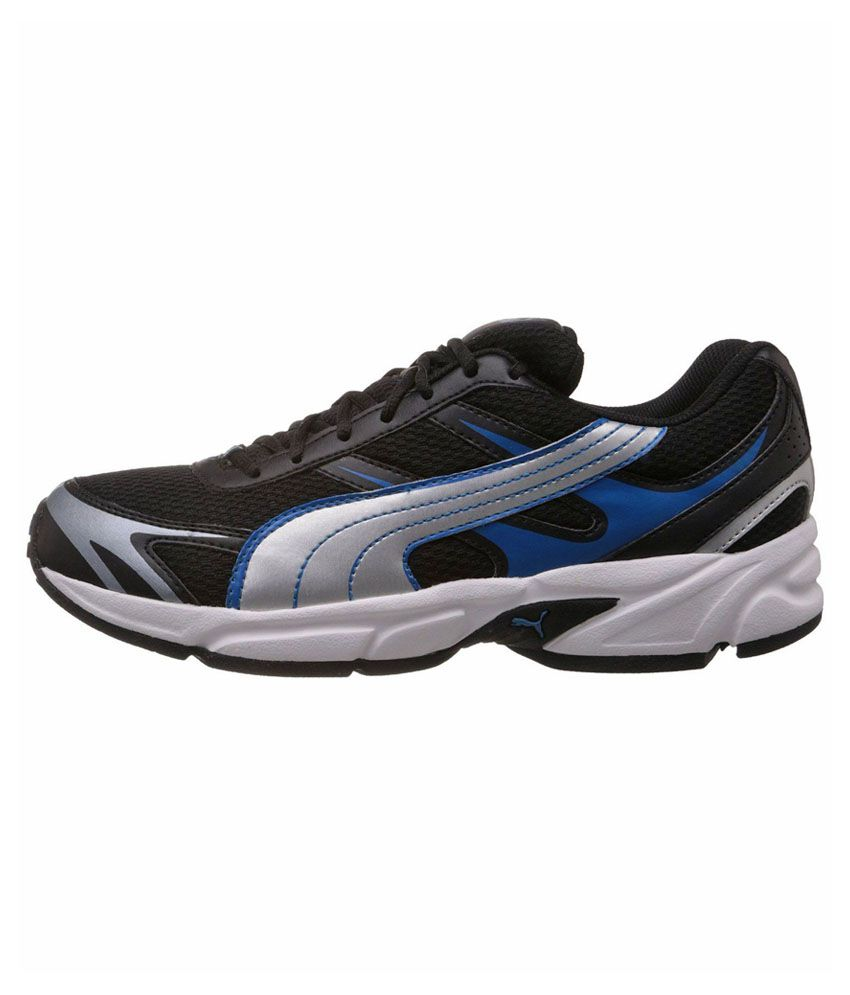 puma black sports shoes cheap > OFF38% Discounted