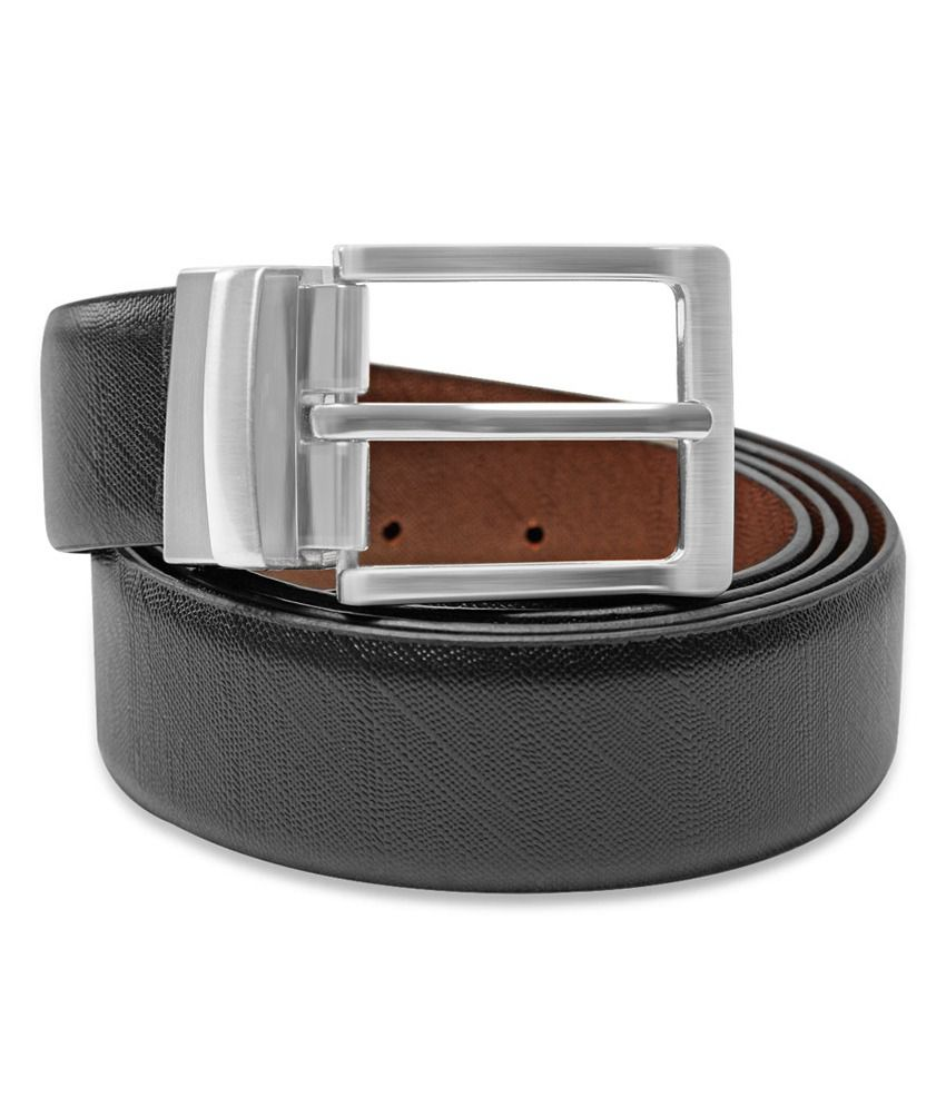 Stephen Armor Melany Italian Leather Reversible Formal Belt