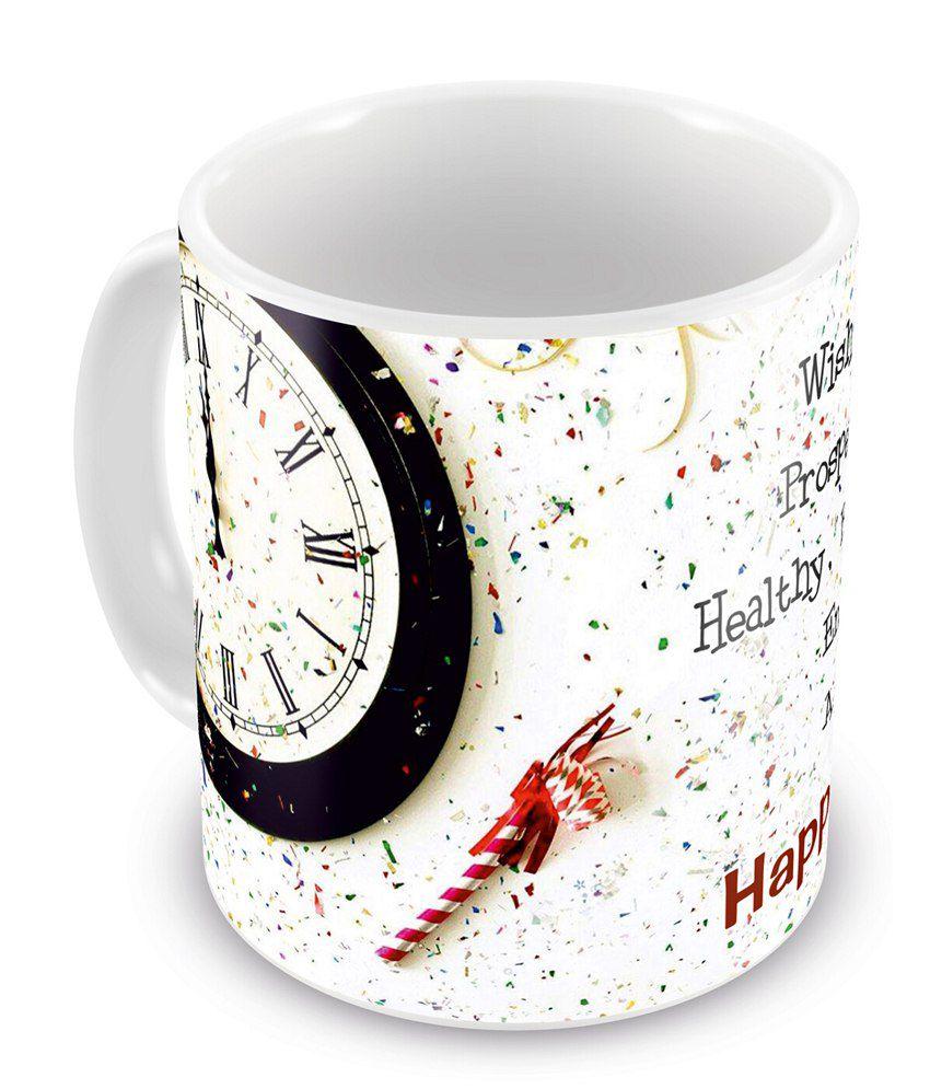 Everyday Gifts Wish You Happy New Year Mug