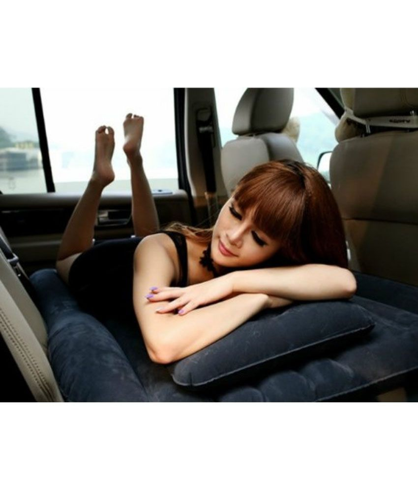 Backseat Inflatable Bed Xelectron Car Inflatable Bed Black Buy Xelectron Car Inflatable