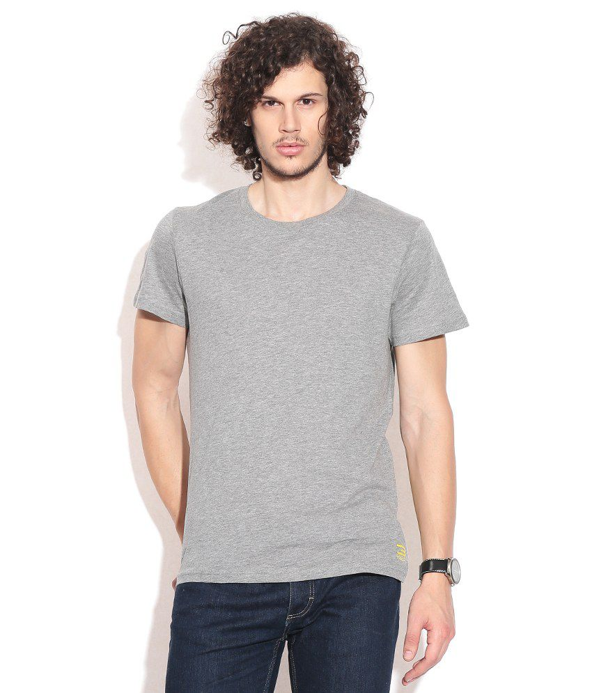 Jack & Jones Gray T-Shirt