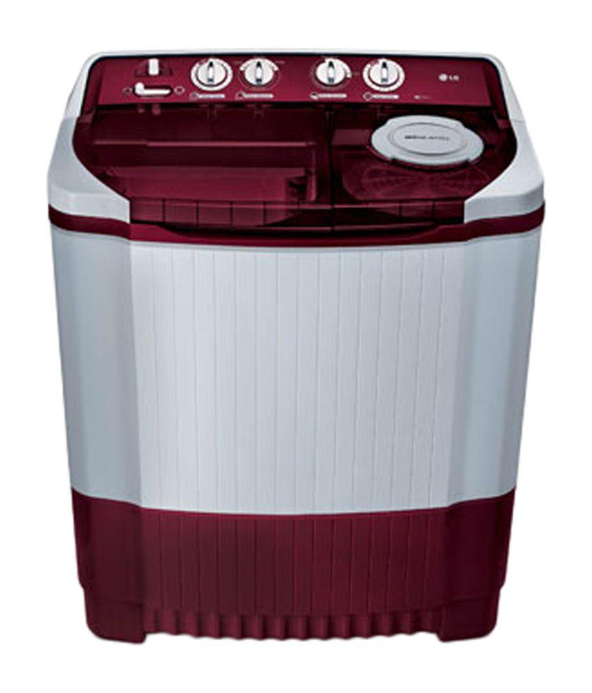 LG 8 Kg P9032R3SA Semi-Automatic Top Load Washing Machine (With Rat Away Technology)