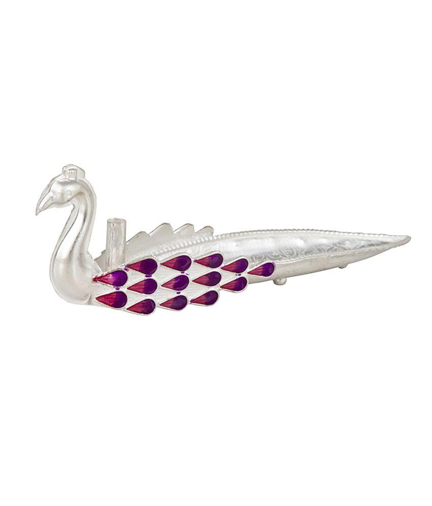 Siri creations peacock agarbathi stand buy siri creations for Creation stand