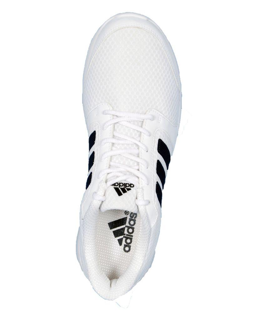 Adidas White Lifestyle Shoes For Men