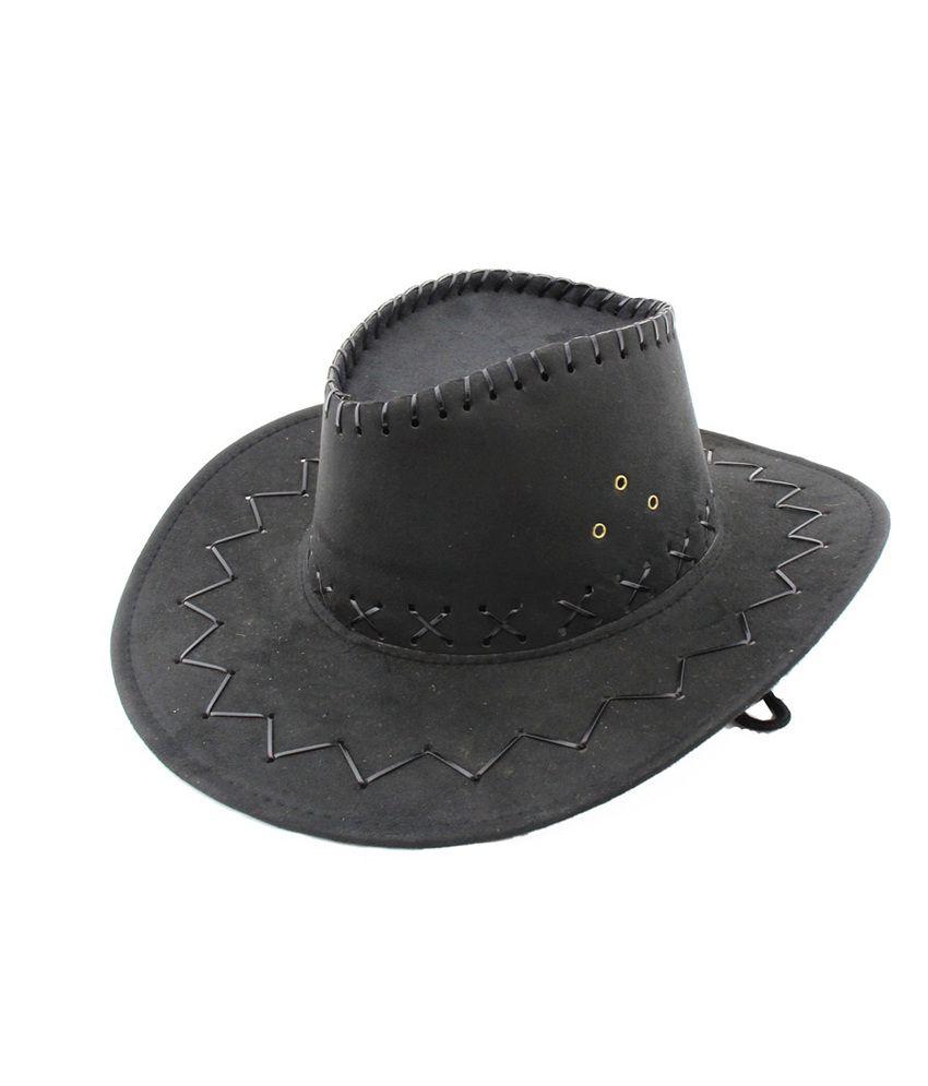 Jstarmart Black Macho Hat
