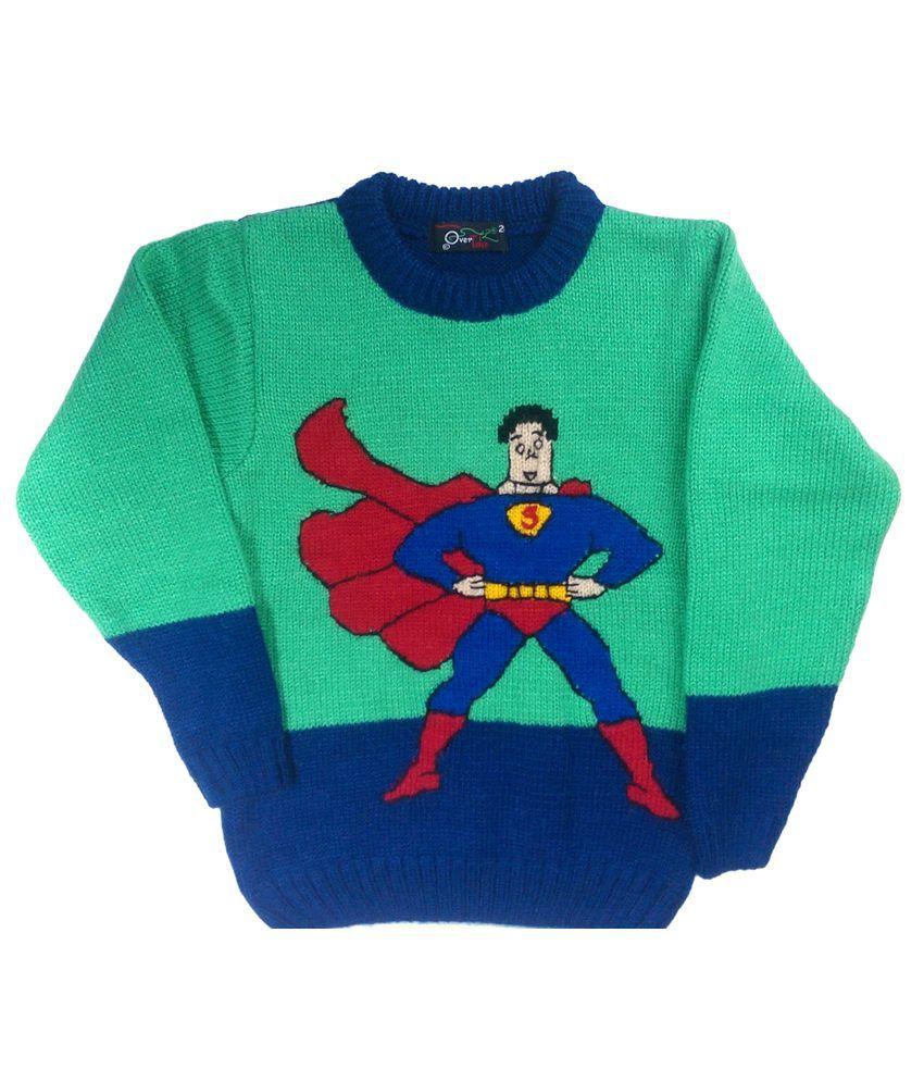Superman Knitco Sweater Superman (Green)