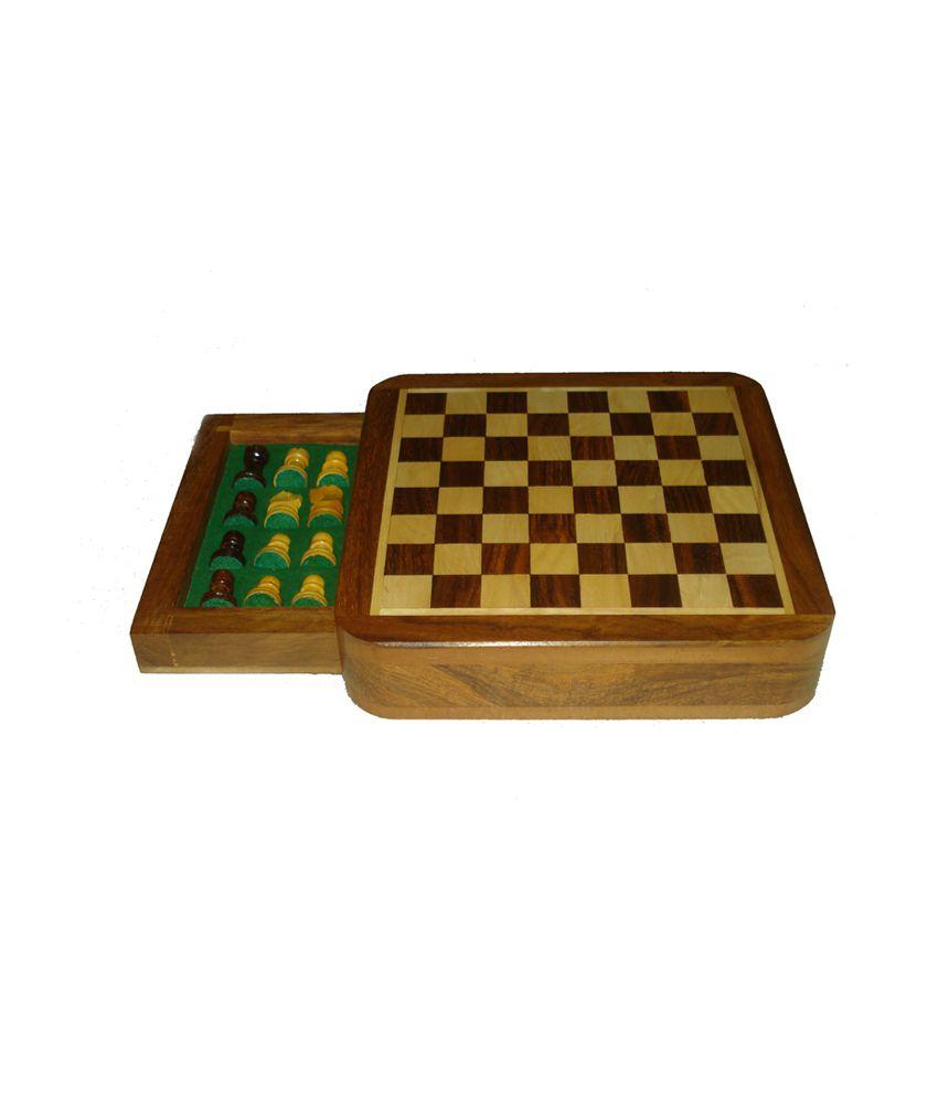 Ks Art Works Magnetic Drawer Chess Box