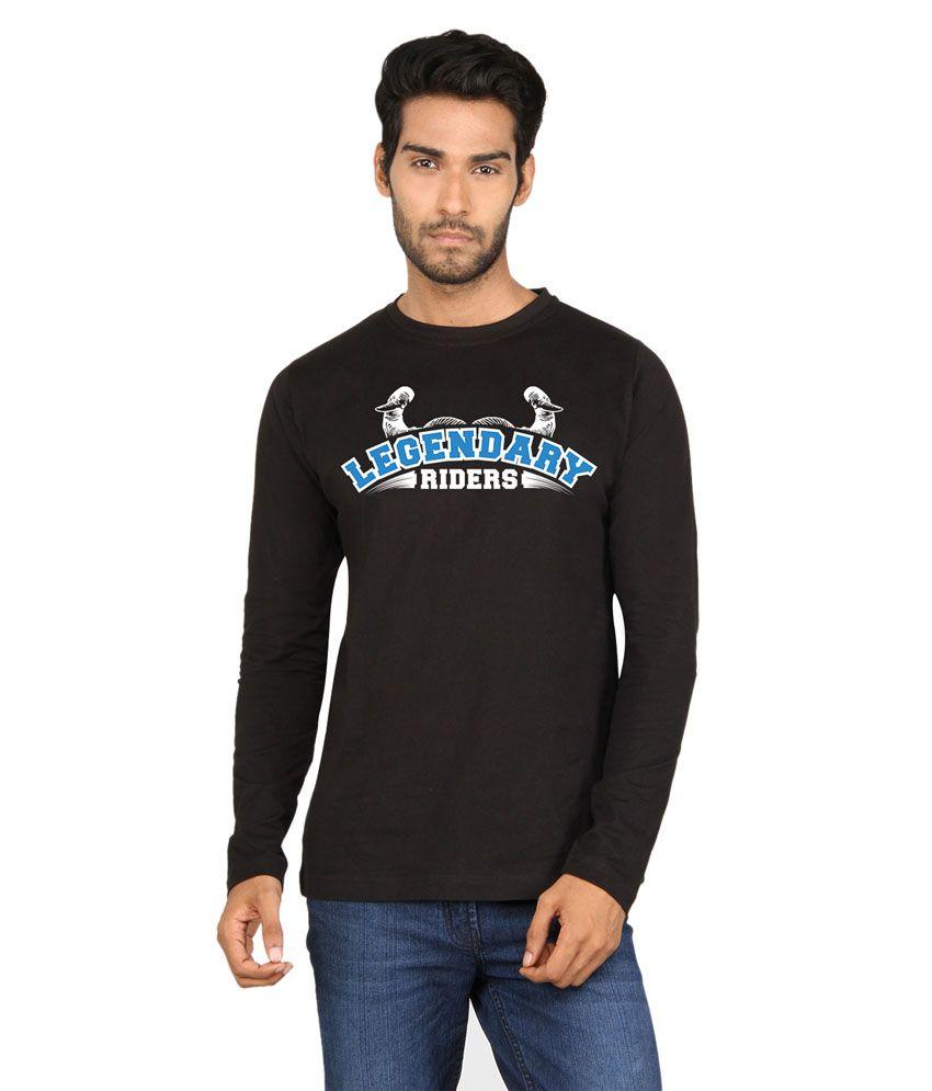 Say It Loud Legendary Rider Printed Fullsleeves T-shirt