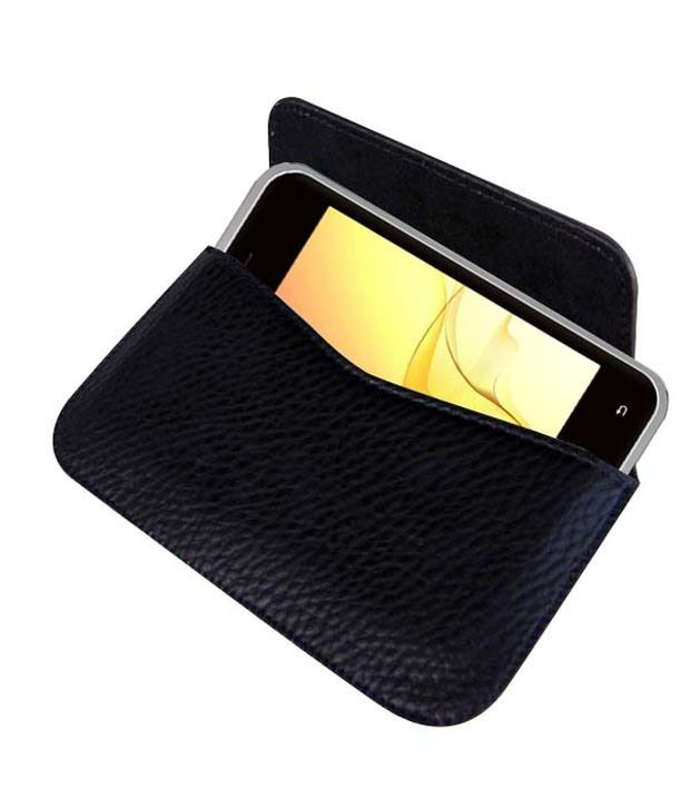 Acm Horizontal Leather Carry Case For Intex Cloud X2 Mobile Pouch Cover Protection available at SnapDeal for Rs.389