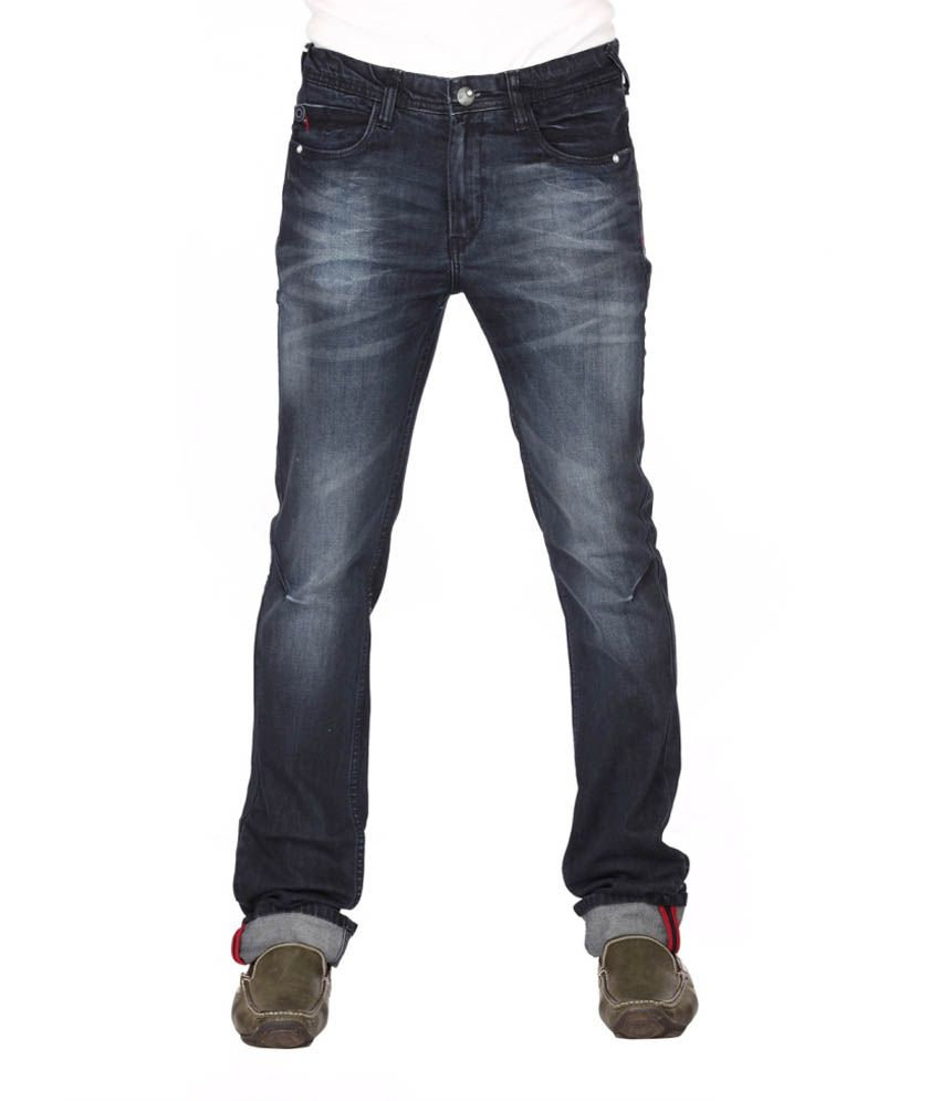 Club Fox Blue Cotton Jeans