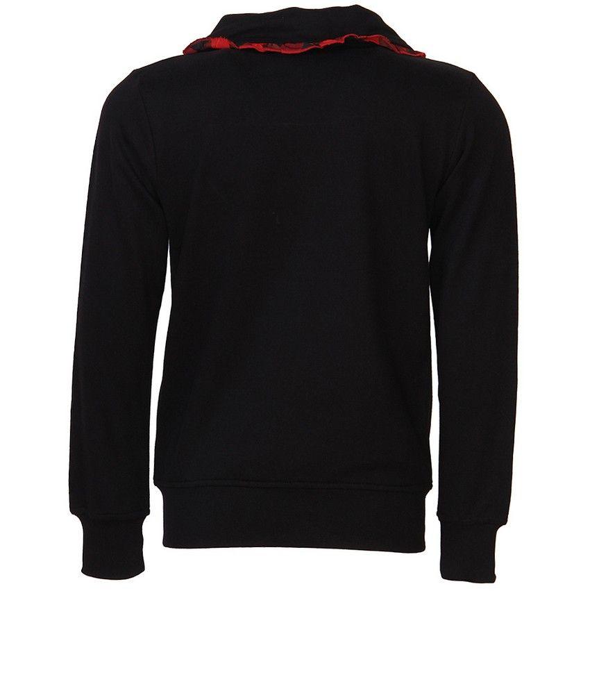 Cool Quotient Black Sweat Shirt