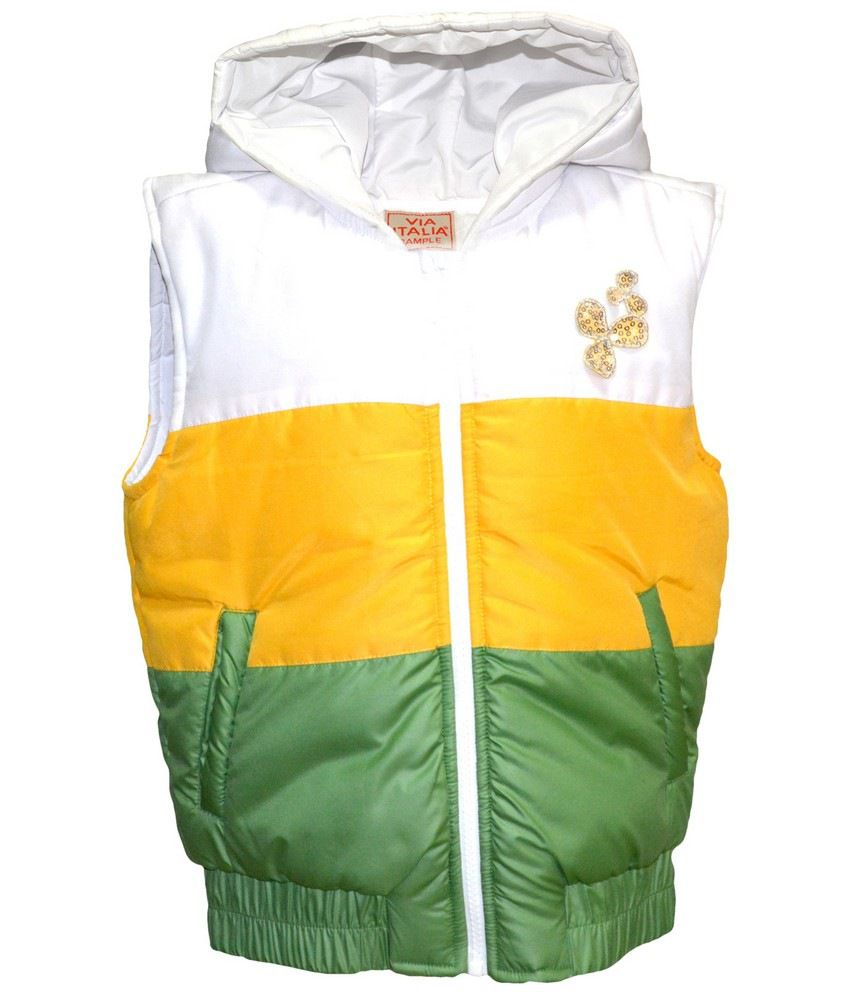 Via Italia Yellow-Green Jacket