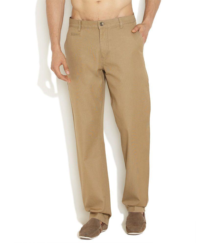 Indigo Nation Light Grey Casual & Cool Cotton Pants