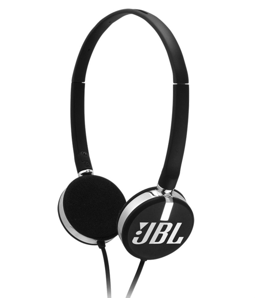 JBL T26C On Ear Headphones Without Mic (Black)