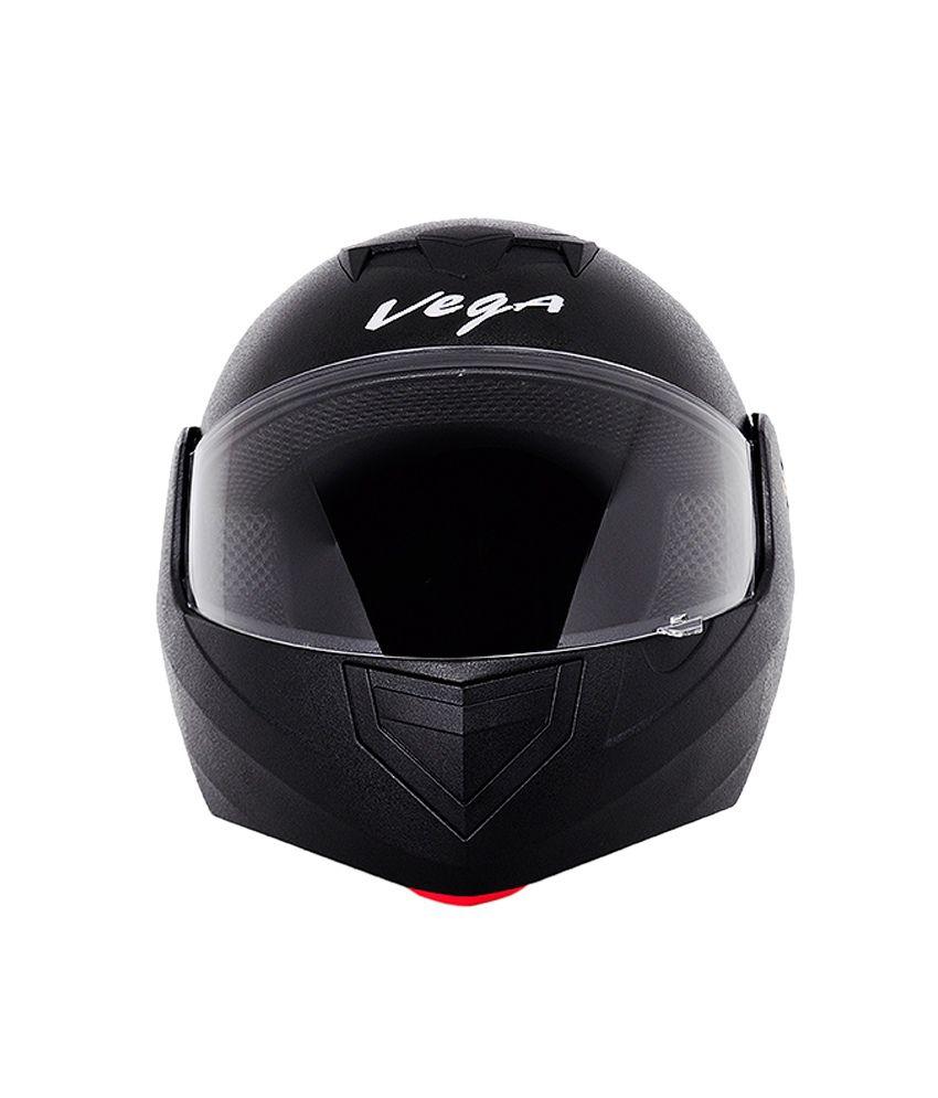 Vega Crux Flip Up Helmet - Black