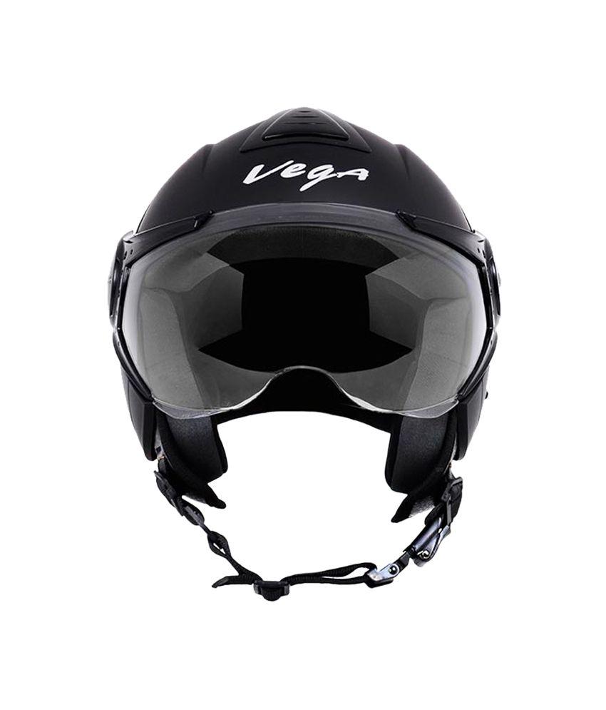 bf54752f Vega - Verve Ladies Helmet (Dull Black): Buy Vega - Verve Ladies Helmet  (Dull Black) Online at Low Price in India on Snapdeal