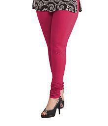 13edb5b73a824 Pink Color Womens Leggings & Salwars: Buy Pink Color Womens Leggings ...