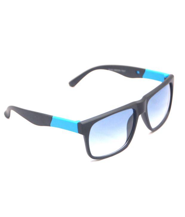 View + 29103_Black-blue Wayfarer Sunglass