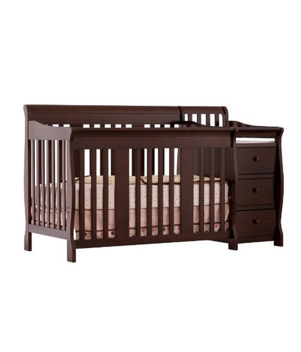 Eddie Bauer Portofino 4 In 1 Fixed Side Convertible Crib And Changer