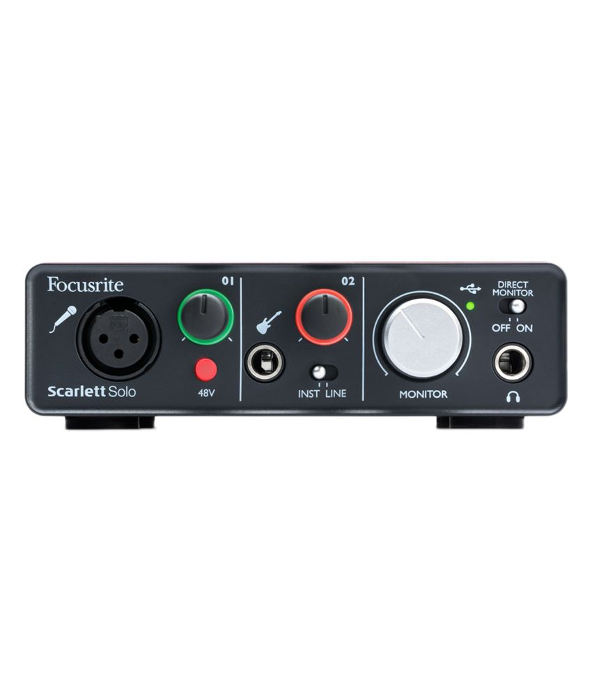 focusrite scarlett solo 2in 2out audio interface buy focusrite