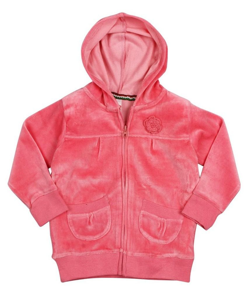 Oye Hooded Jacket - Coral