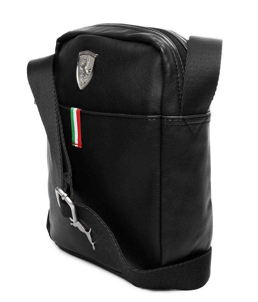c68fa745805 Puma Unisex Black Messenger Bag-7267301-X - Buy Puma Unisex Black ...