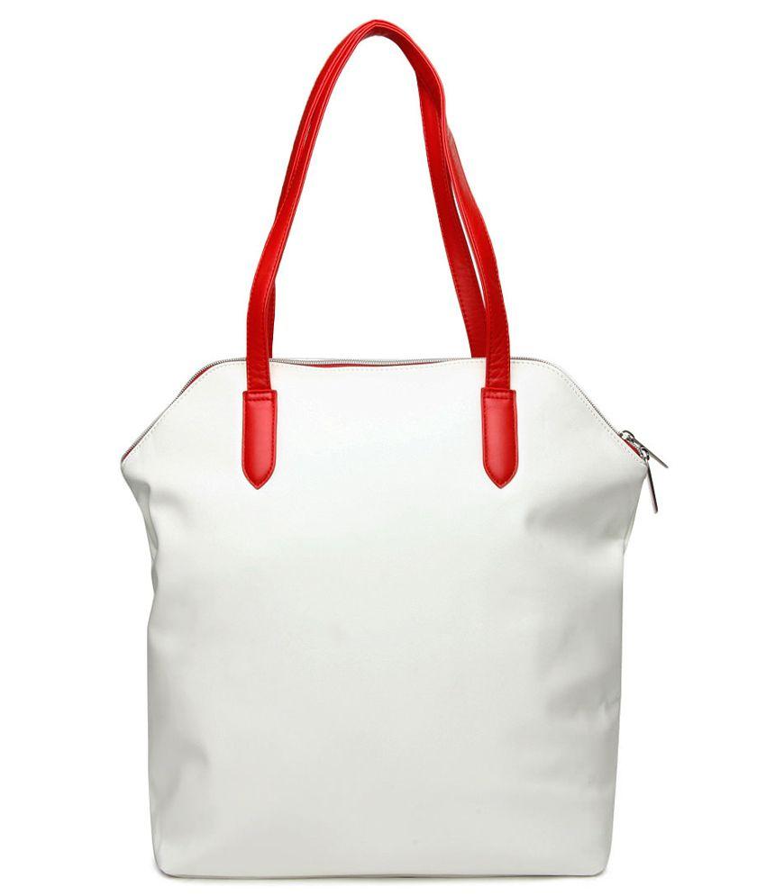 Puma Women White Tote Bag-7267503-X - Buy Puma Women White Tote Bag ... 594db1f38f