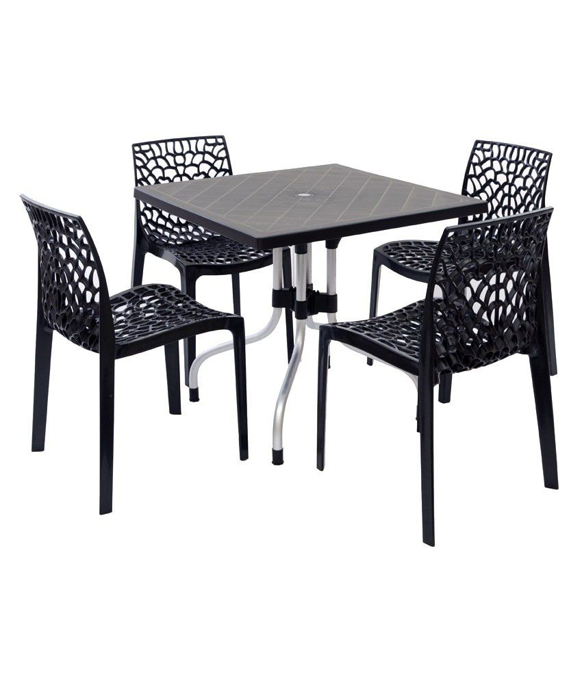 Web Dining Chair By Supreme By Supreme Online: Supreme Set Of 4Web Chair + 1 Olive Foldable Table