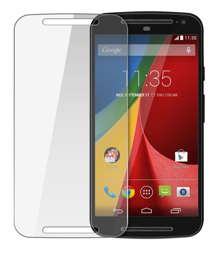 Moto G2 Tempered Clear Screen Guard by Ase