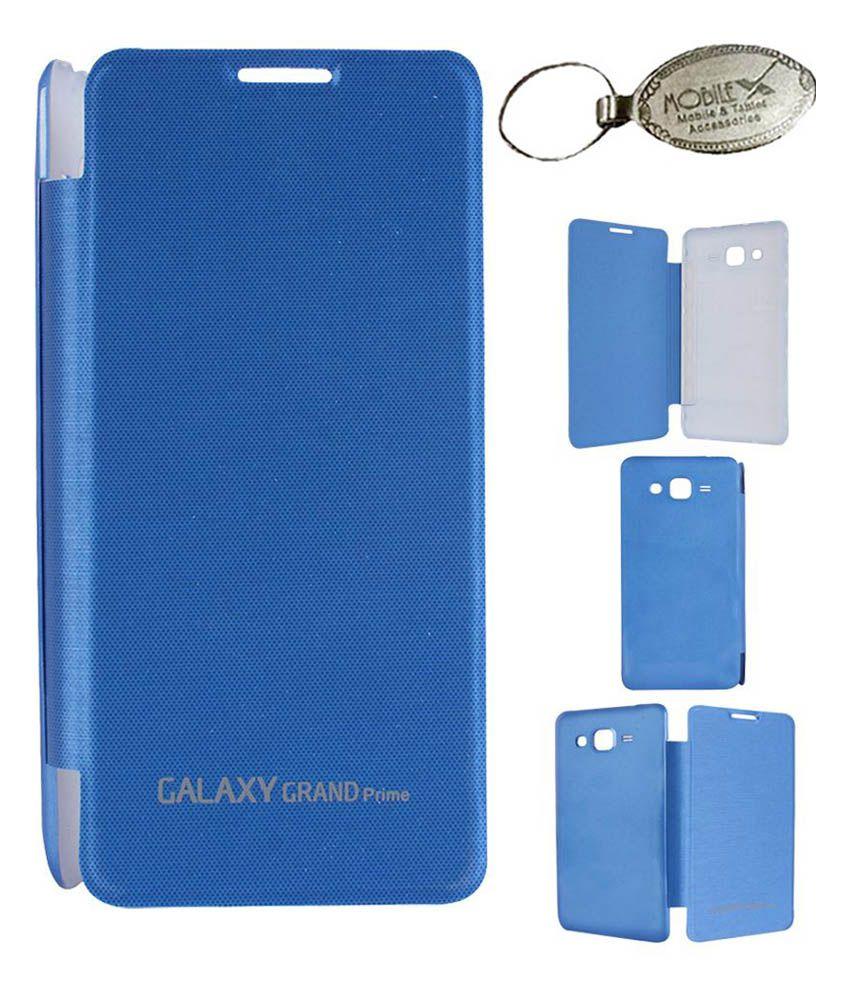 Axes Blue Flip Cover For Samsung Galaxy Grand Prime G530h