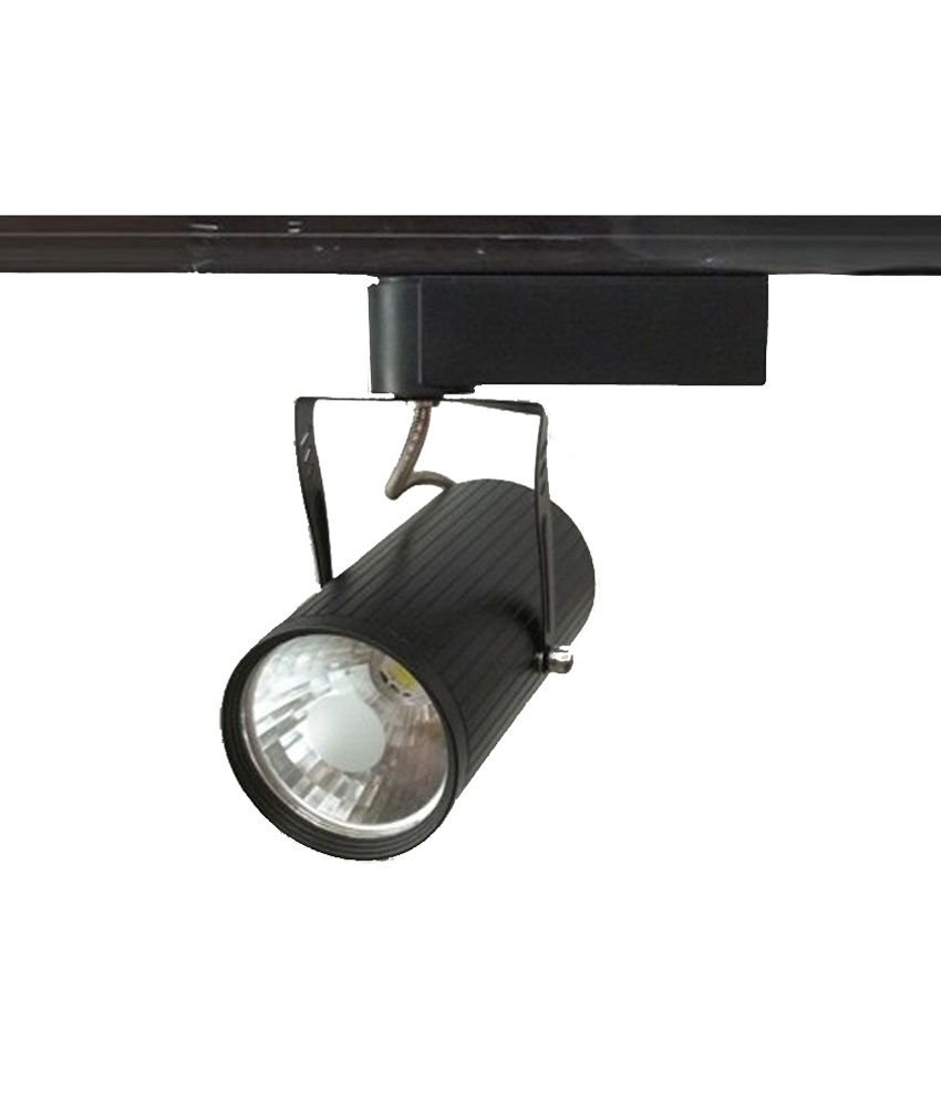 Led 4 India Black Track Light
