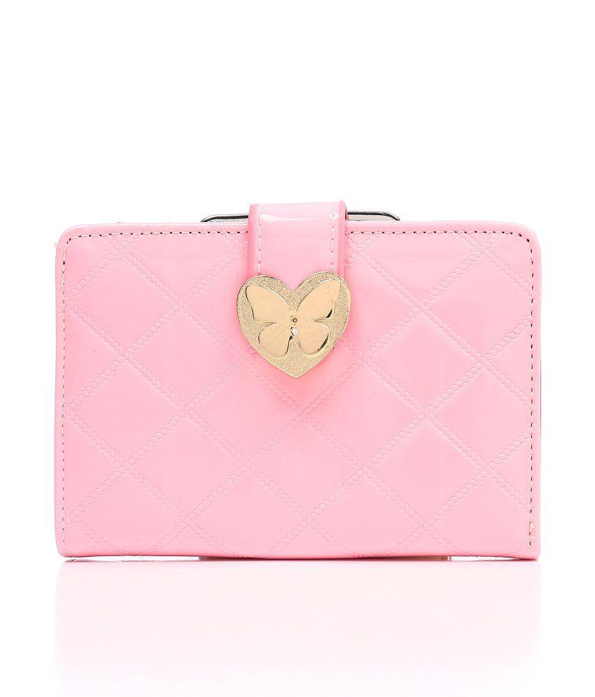 New Pearls Stylish Pink Clutch