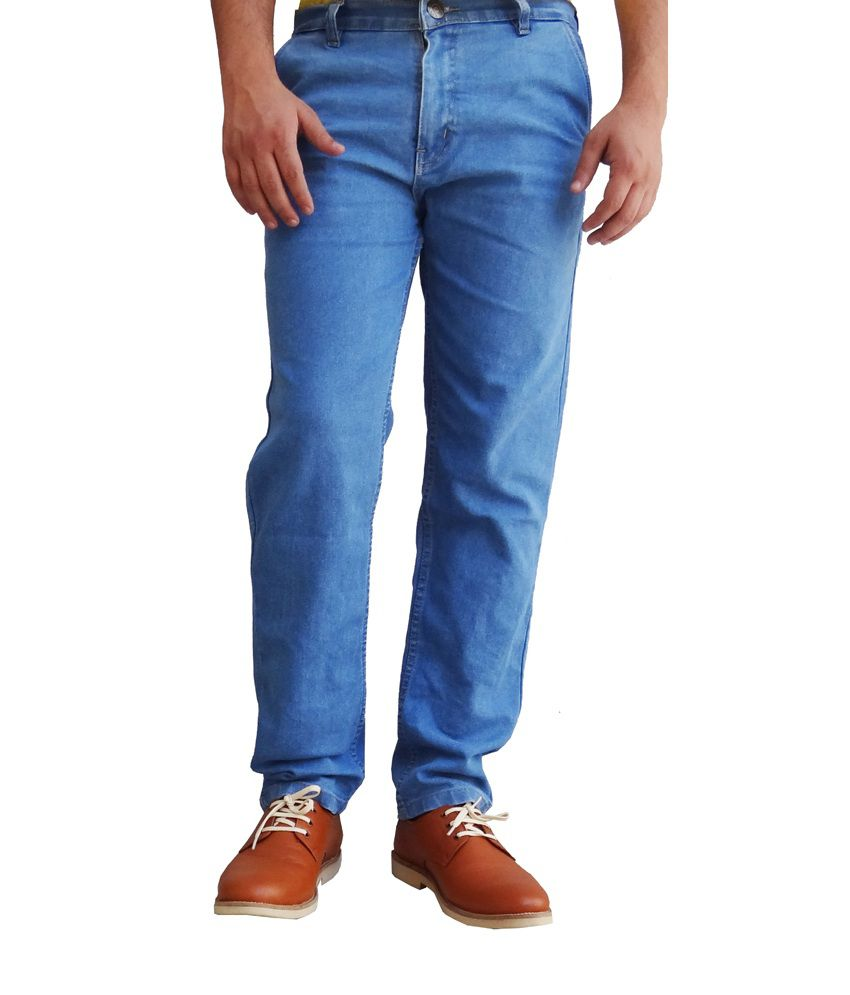 Ben Carter Men's Light Blue strechable Jeans