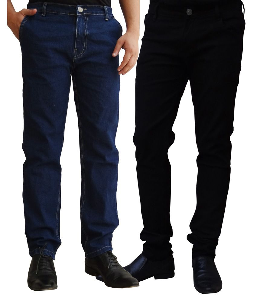 Ben Carter Superb Looking Men's Denim - Combo of 2 Jeans