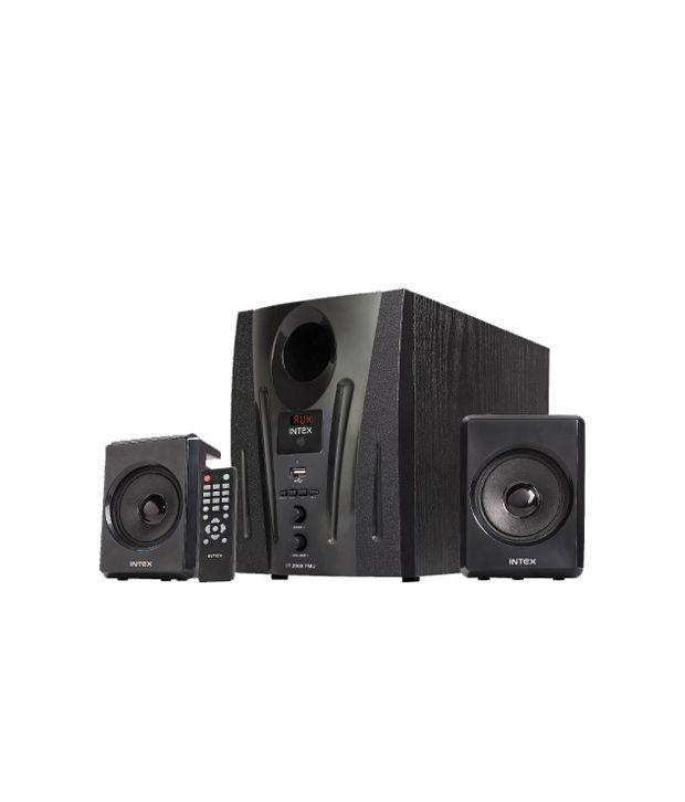 Intex-Computer-M/M-Speaker-2.1-IT-2000-FMU