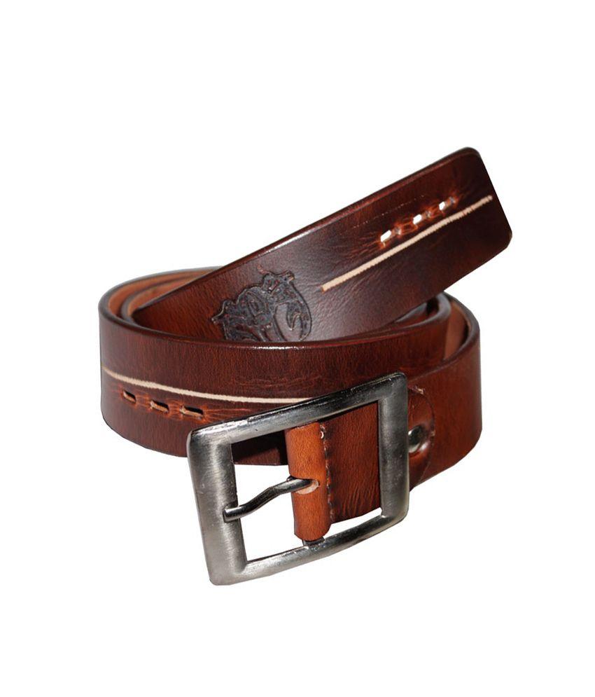 Crabrocks Leather Belts For Men