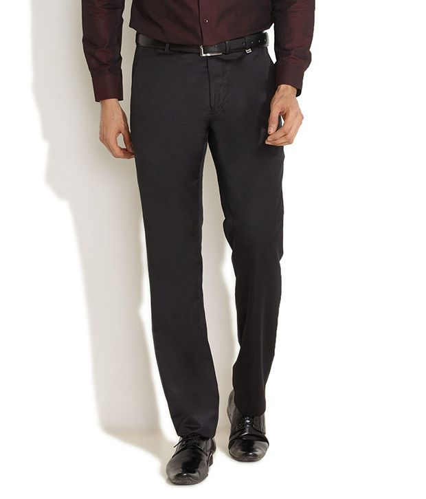 Indigo Nation Black Work Scene To Club Cool Trousers