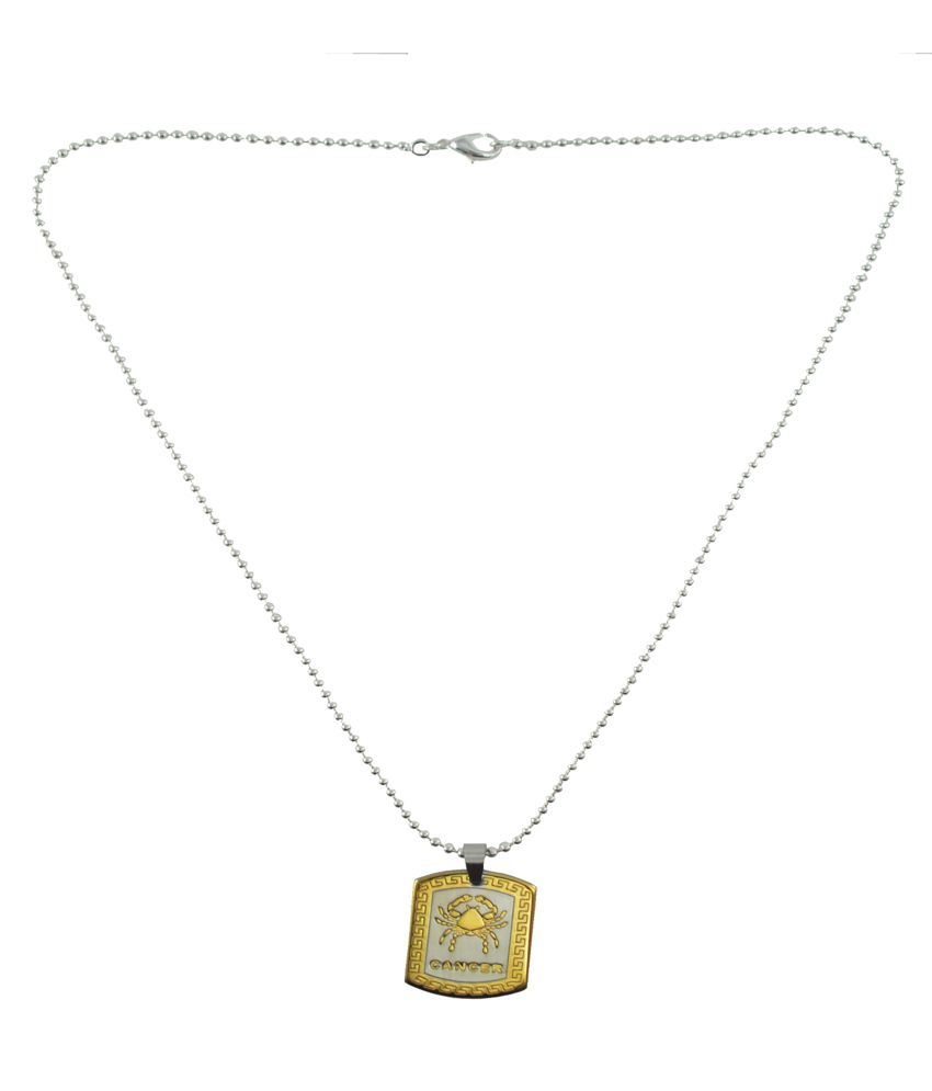Alpha Man Pendant With Chain For Men