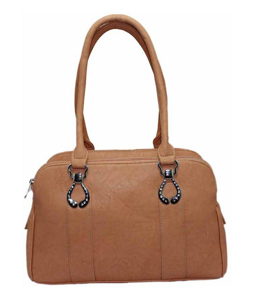 Onlinemaniya Orange Shoulder Bag For Women