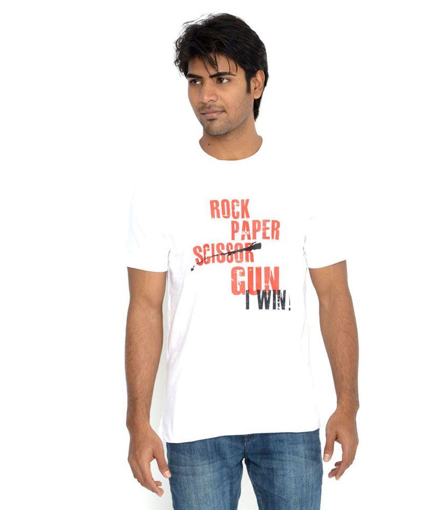Swash Culture White Cotton T-shirt