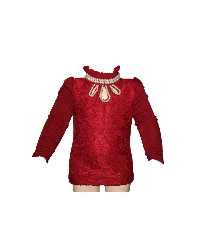 Habooz Full Sleeves Maroon Color Sweater For Kids - Buy Habooz Full Sleeves  Maroon Color Sweater For Kids Online at Low Price - Snapdeal 3357ebf8c