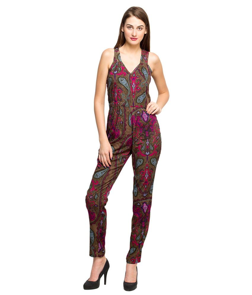 Oxolloxo Multi Color Polyester Jumpsuits