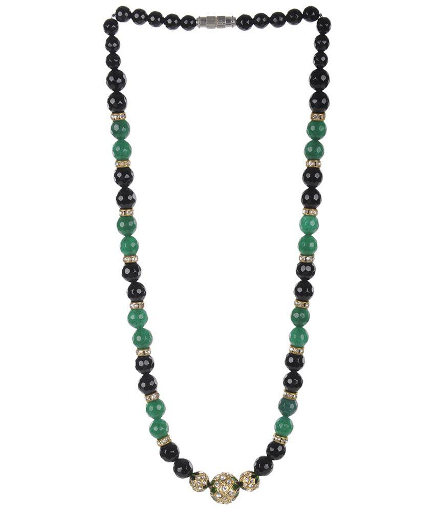 Camroose Black & Green Necklace