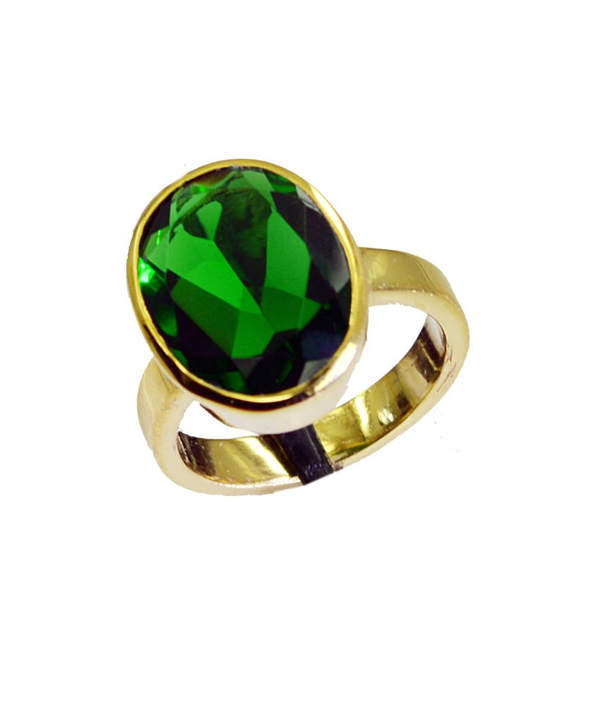 India Star Emerald: Riyo Angelic Star Emerald-cz Ring: Buy Riyo Angelic Star