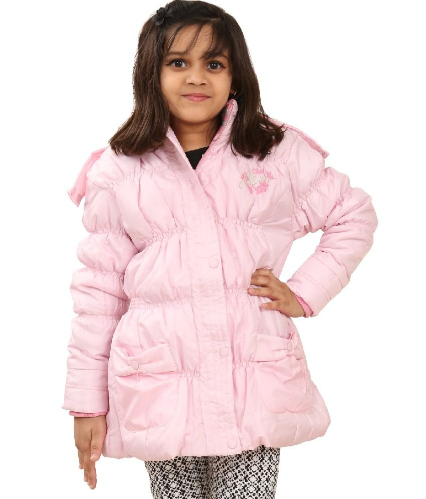 Sportking Baby Pink Color Jacket For Girl