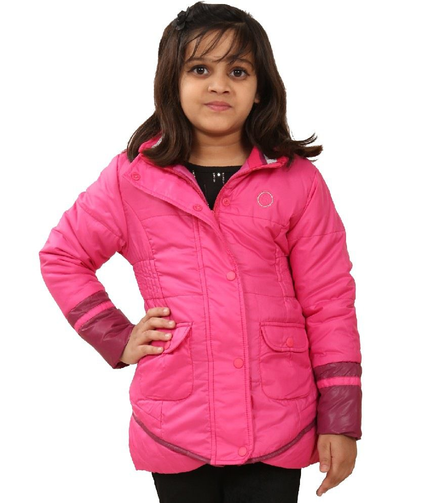 Sportking Dark Pink Color Jacket For Girl