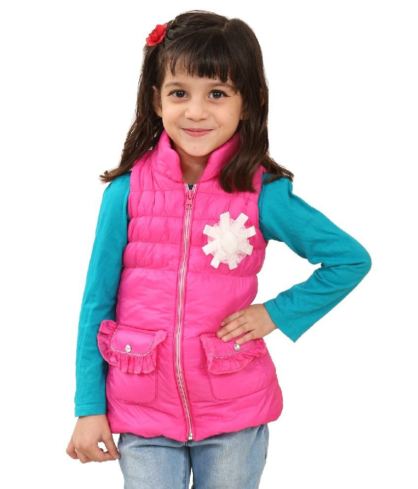 Sportking Pink Color Jacket For Girl