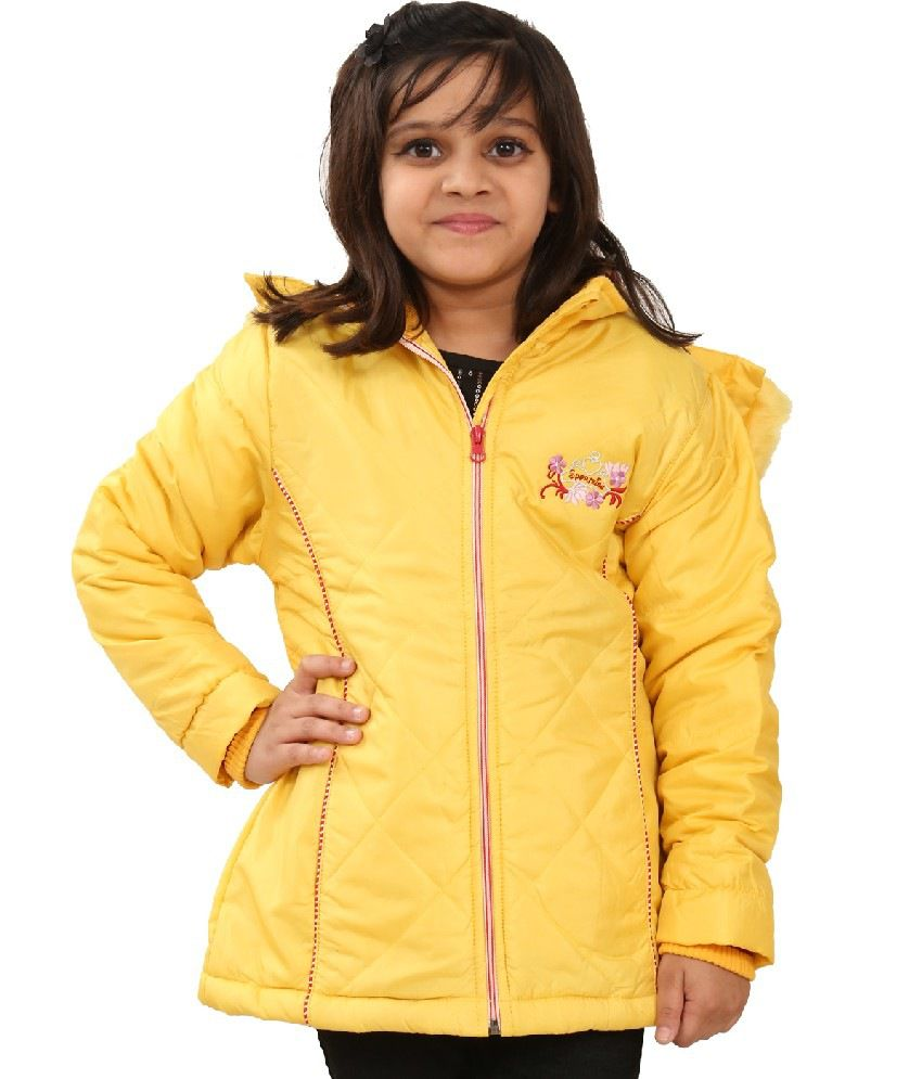 Sportking Yellow Color Jacket For Girl