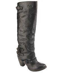 Delize Black Cone Boots