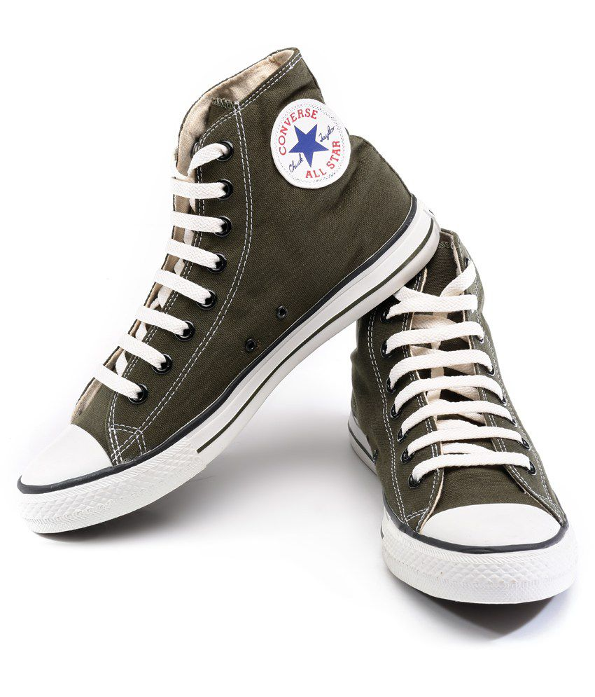 82662729ec51 Converse Leaf Green Casual Shoes Price in India- Buy Converse Leaf ...